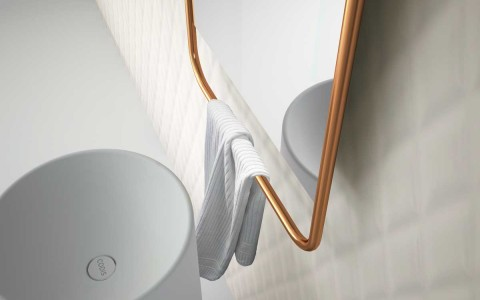 ALPHA TOWEL RACK